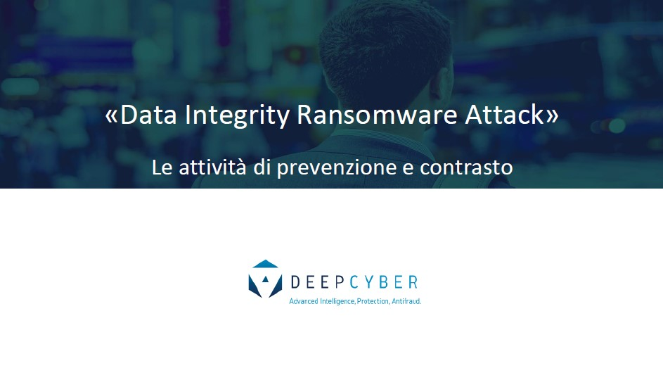 Data Integrity Ransomware Response DeepCyber